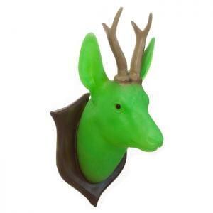 Heico wandlamp Hert groen