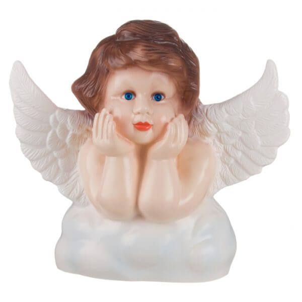 Heico Engel wit vleugels