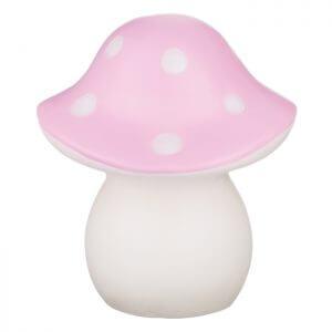 Spaanse Paddenstoel roze:gr