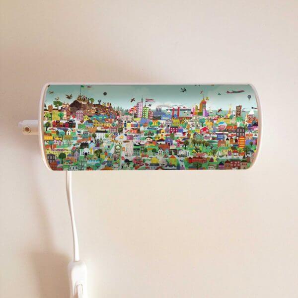 Grootzus lampje Stad