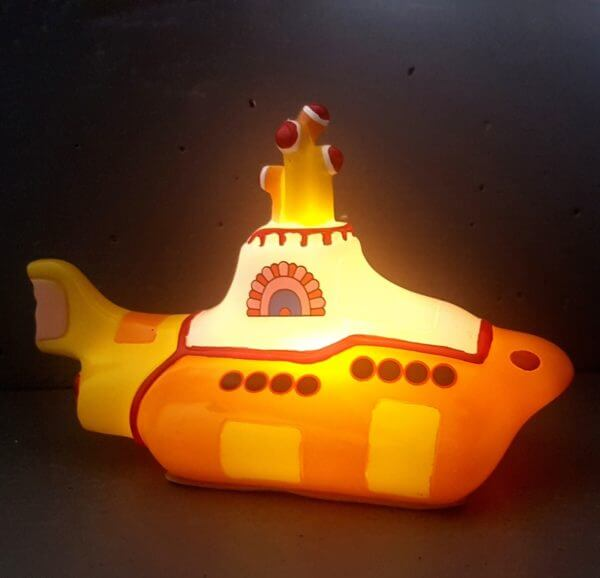Nachtlampje Yellow Submarine1