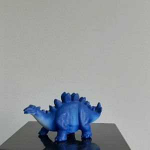 mini led stegosaurus blauw