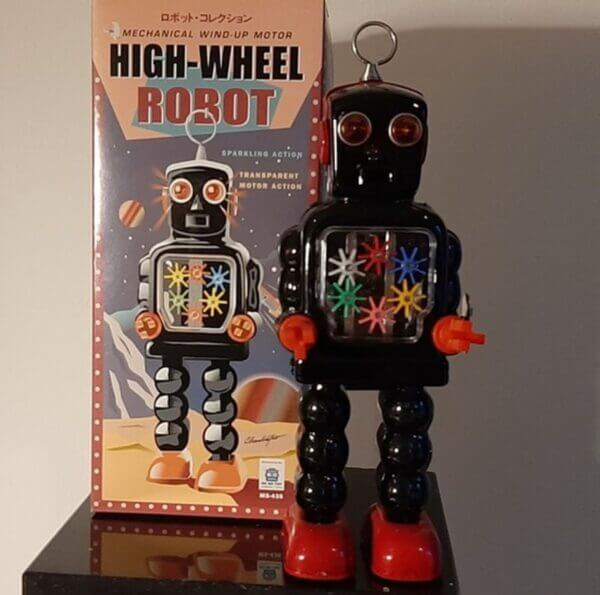 High-Wheel Robot