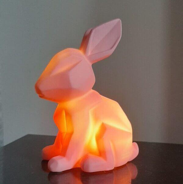 konijntje/haasje roze