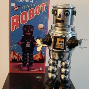robot roby chroom