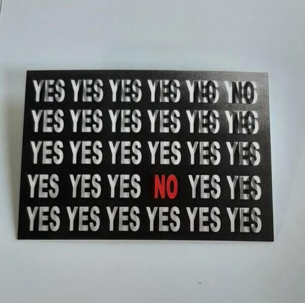 3d yes or no