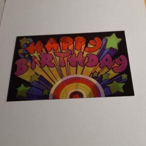 3d Happy Birthday arty