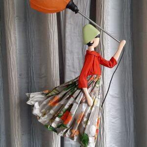 Skitso paraplulamp Ilda