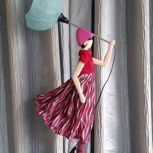 Skitso paraplulamp Paula