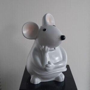 muis lichtgrijs